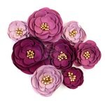 Plum Afternoon Prima Flowers® Darcelle Collection - Prima