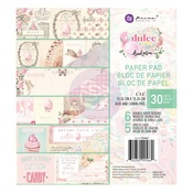 Dulce Collection 6x6 Paper Pad - Prima