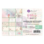 Dulce Collection 4X6 Journaling Cards - Prima