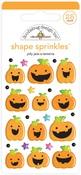 Jolly Jack-O-Lanterns Sprinkles - Doodlebug