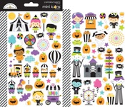 Candy Carnival Mini Icon Stickers - Doodlebug