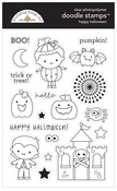 Happy Halloween Doodle Stamps - Doodlebug