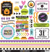 Candy Carnival This & That Sticker Sheet - Doodlebug