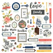 We Are Family Sticker Sheet - Photo Play