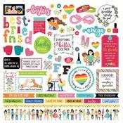 Best Friends Sticker Sheet - Photo Play