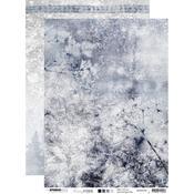 Frozen Flower A4 Paper - Snowy Afternoon - Studio Light