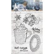 Studio Light Snowy Afternoon Clear Stamps Number 396