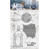 Studio Light Snowy Afternoon Clear Stamps Number 398