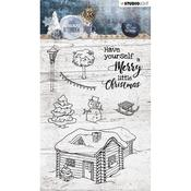 Studio Light Snowy Afternoon Clear Stamps Number 399