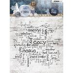 Studio Light Snowy Afternoon Background Stamp Number 400 - PRE ORDER