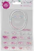 Eyes Jane Davenport Clear Stamps - PRE ORDER