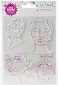 Faces Jane Davenport Clear Stamps - PRE ORDER