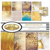 Gold Christmas Reminisce Collection Kit