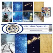 North Pole Express Reminisce Collection Kit