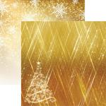 Oh Christmas Tree Paper - Gold Christmas - Reminisce