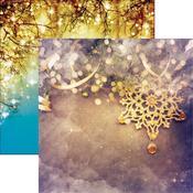 Golden Christmas Paper - Gold Christmas - Reminisce