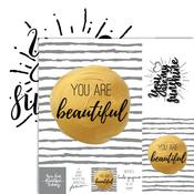 Beautiful Foiled Paper - Frameable Quotes - Reminisce