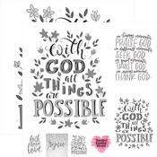 Possibilities Foiled Paper - Frameable Quotes - Reminisce