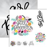 Girl Power Foiled Paper - Frameable Quotes - Reminisce