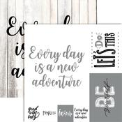 New Adventures Foiled Paper - Frameable Quotes - Reminisce