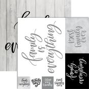 Family Foiled Paper - Frameable Quotes - Reminisce