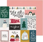 Bundled Paper - Snowflake - Crate Paper
