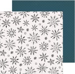 Winterscape Paper - Snowflake - Crate Paper