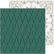 Icicles Paper - Snowflake - Crate Paper