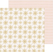 Snowcapped Paper - Snowflake - Crate Paper
