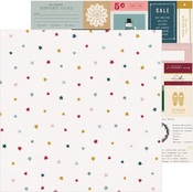 Marshmallow Paper - Snowflake - Crate Paper