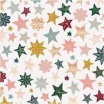 Joyous Foiled Paper - Snowflake - Crate Paper - PRE ORDER