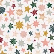 Joyous Foiled Paper - Snowflake - Crate Paper