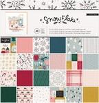 Snowflake 12 x 12 Paper Pad - Crate Paper