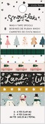 Snowflake Washi Tape - Crate Paper