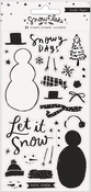 Snowflake Clear Stamps - Crate Paper