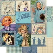 January Images Paper - The Calendar Collection - Authentique