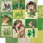 March Images Paper - The Calendar Collection - Authentique
