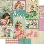 April Images Paper - The Calendar Collection - Authentique