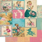 May Images Paper - The Calendar Collection - Authentique