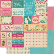 May Sentiments Paper - The Calendar Collection - Authentique