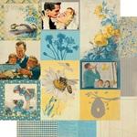 June Images Paper - The Calendar Collection - Authentique