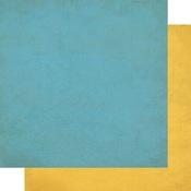 June Solids Paper - The Calendar Collection - Authentique