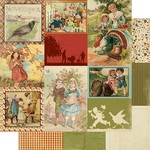 November Images Paper - The Calendar Collection - Authentique