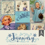 January Paper Pack - The Calendar Collection - Authentique