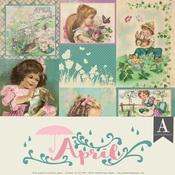 April Paper Pack - The Calendar Collection - Authentique