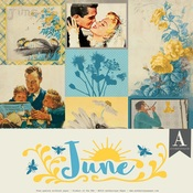 June Paper Pack - The Calendar Collection - Authentique