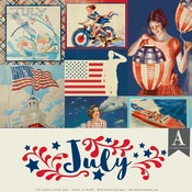 July Paper Pack - The Calendar Collection - Authentique
