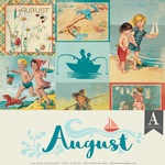 August Paper Pack - The Calendar Collection - Authentique