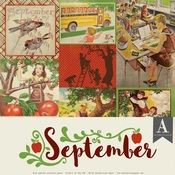 September Paper Pack - The Calendar Collection - Authentique