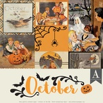 October Paper Pack - The Calendar Collection - Authentique